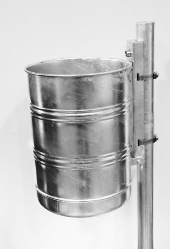 Außenabfallbehälter 35 l; ungelocht in verschiedenen Ausführungen