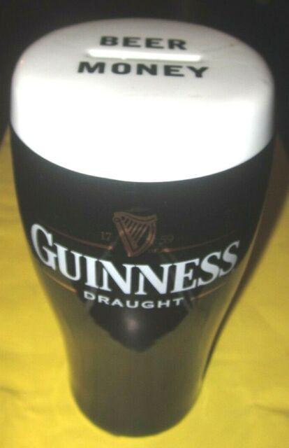 Guinness Draught Ceramic Beer Money Box Genuine Licensed Item