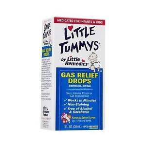 Little Tummys Gas Relief Drops Natural Berry Flavor