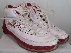 b854d1299aee45 Air Jordan 22 XX2 XXII PE Atlanta Hawks white red sneakers Shoes ...