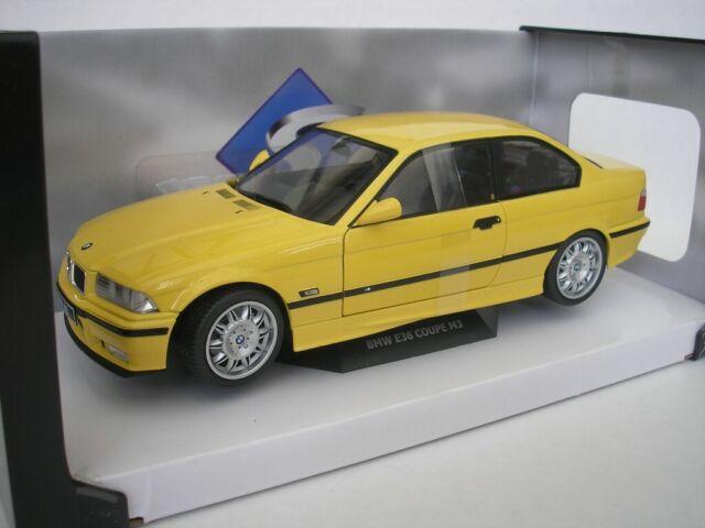 BMW M3 E36 1994 Dakar Yellow 1/18 Solido 421185370 New