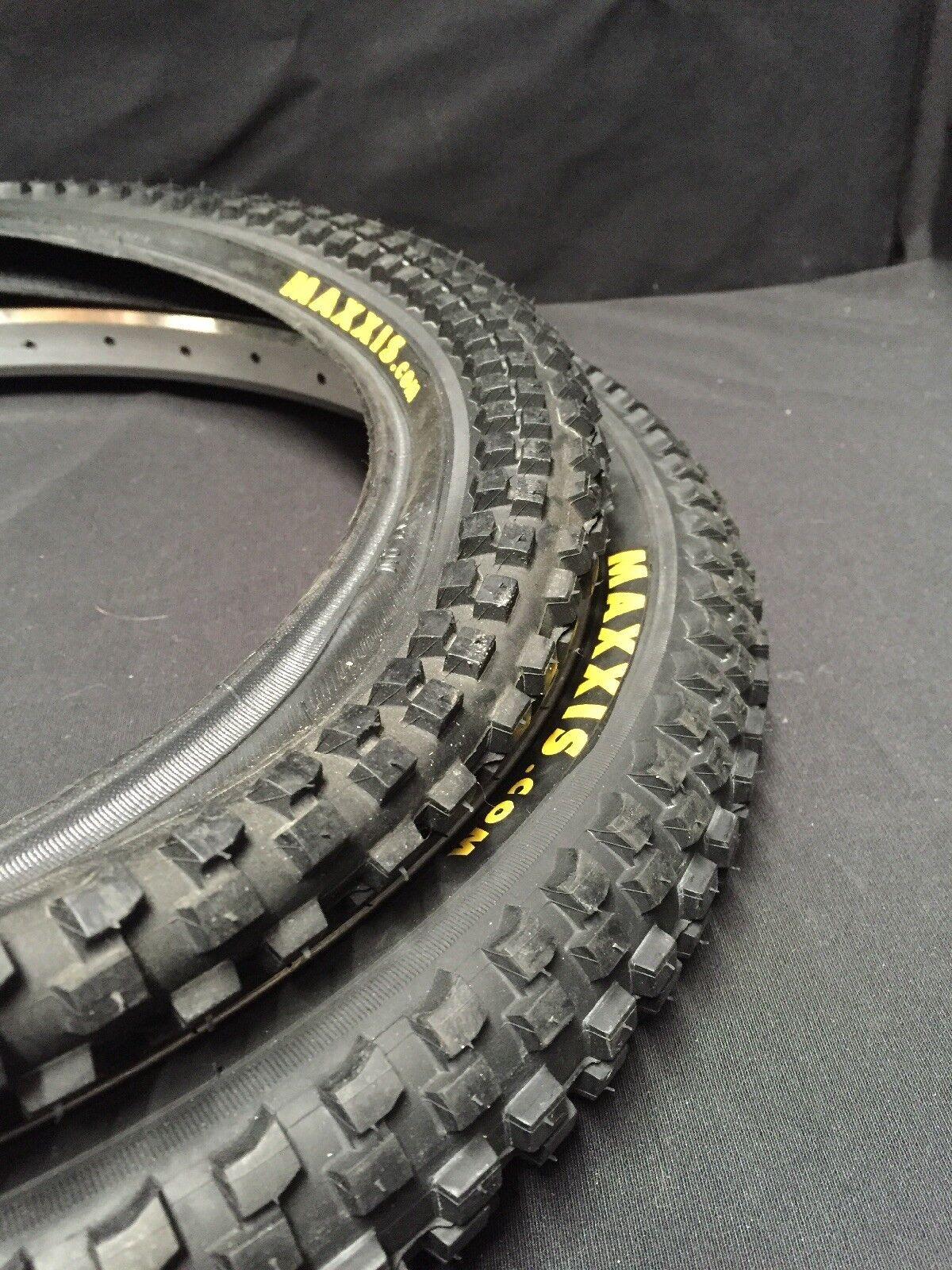 Nuevo Maxxis MaxxDaddy BMX Neumático De 20 X 1.85 ATB carrera de suciedad se adapta a  Gt Freeagent rojoline