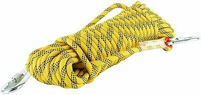 12mm 25KN Static Tree Arborist Carving Rock Climbing Rope Safety Rescue Gear