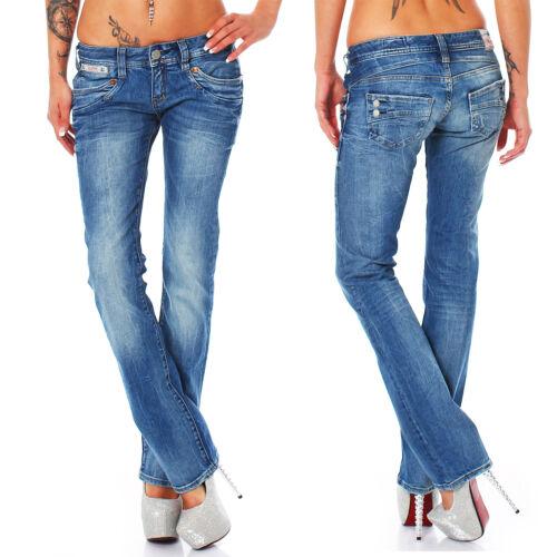 Straight//Woman Donna Jeans Pantaloni Herrlicher-PIPER-d9900//624