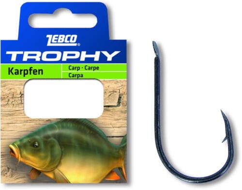 Zebco Trophy Karpfen Vorfachhaken Angelhaken Haken gebunden angeln Fisch fangen