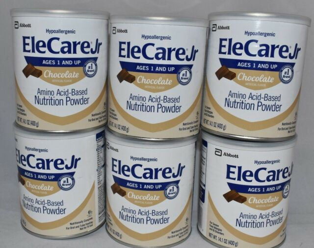 EleCare Vanilla - 1 Case of 6 Cans for