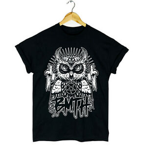 BMTH-OWL-TSHIRT-BAND-MUSIC-ROCK-OLIVER-SYKES-WOMENS-MENS-NEW
