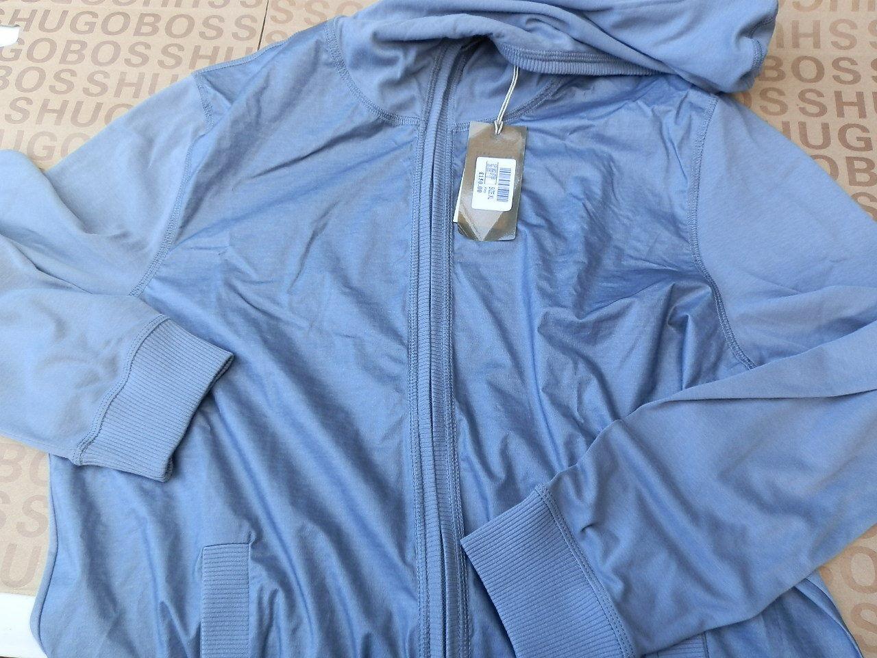 Neuf Hugo Boss Homme Designer Gris Sport Jeans Costume Sport Gris Casual Smart Veste XL 401f48