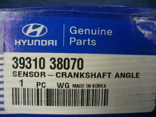 OEM 2000-2006 Hyundai Santa Fe CRANKSHAFT ANGLE SENSOR 39310-38070