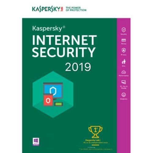 Kaspersky internet security 2019 Key 5PC 1Year license