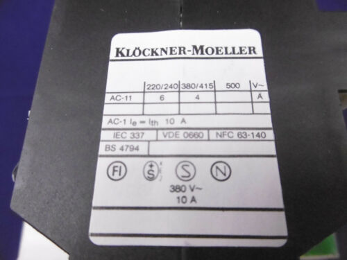 Moller hilfsschütz Dil 08-31 nuevo embalaje original
