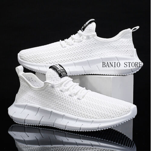 Mens Comfort Casual Breathable Sneakers Running Sports Athletic Shoes Light Walk