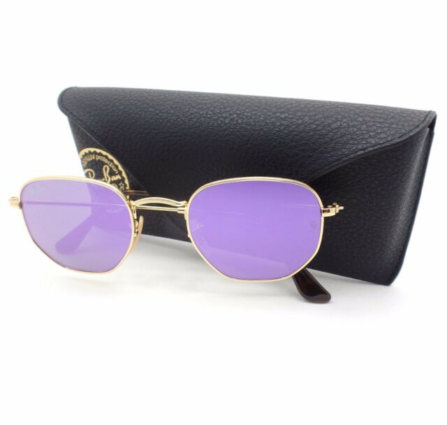 c74f596136813 Sunglasses Ray-Ban Square Rb3548n 001 8o 48 Gold Wisteria   eBay