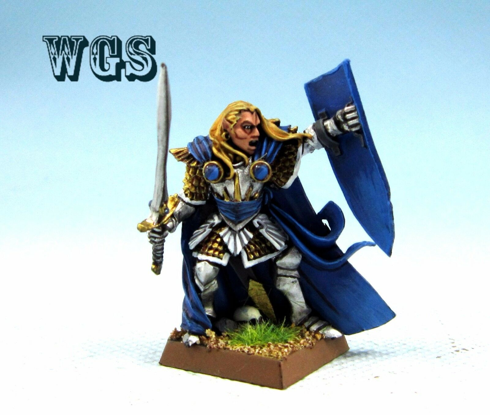 25mm Warhammer WGS Painted High Elf Althran HE03