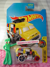 2017 Hot Wheels COOL-ONE✰Kmart Exclusive yellow;white/red✰Art Cars H✰Case F