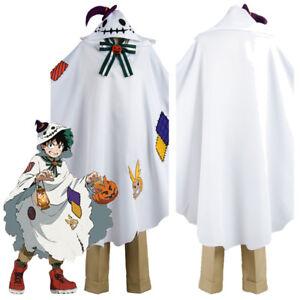 Details About My Boku No Hero Academia Izuku Midoriya Cosplay Costume Halloween Outfit Suit