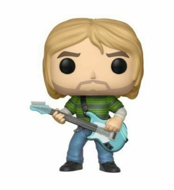 Funko Pop Rocks Kurt Cobain Vinyl Figure Item #24777