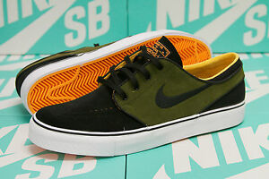 separation shoes 0ea36 83218 Image is loading NIKE-SB-STEFAN-JANOSKI-BLACK-LAGOON-GREEN-LASER-