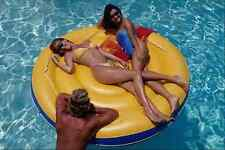 628093 Relaxing On A Pool Float A4 Photo Print