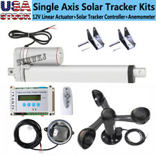 Dc 12v 8 Linear Actuator Ampcontroller Ampanemometer Fit For Solar Tracking Tracker