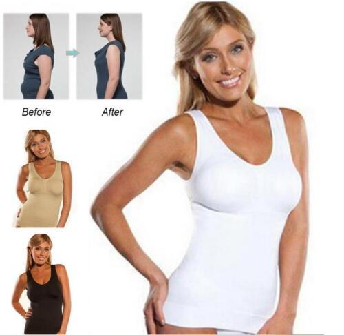WOMEN/'S SHAPEWEAR SHAPER SLIMMING VEST TOP BODY TUMMY CONTROL SEAMLESS UNDERWEAR