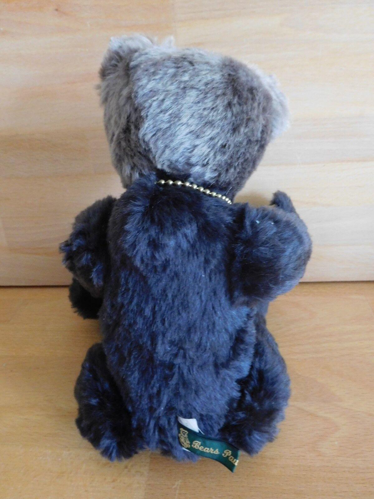Bear Paws Collectables Noir Teddy Bear Limited Edition 612 612 6