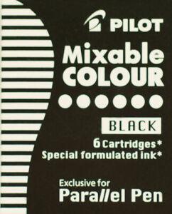Pilot-Parallel-Pen-Calligraphy-Pen-Refills-6-Black-Cartridges