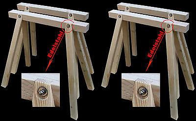 4 Stück Neue Arbeitsböcke,stützböcke,holzböcke,montageböcke,schreinerböcke FöRderung Der Produktion Von KöRperflüSsigkeit Und Speichel