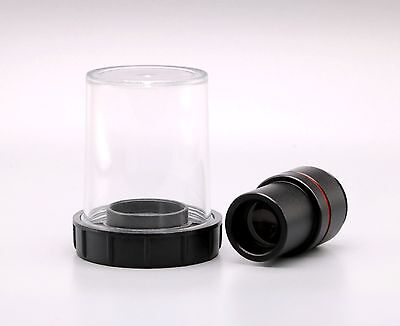 New Microscope 0.5X C-mount Lens for CCD COMS Camera w/ 23.2mm 30mm adapter