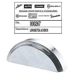 000267 Chiavetta Volano Piaggio Derbi Atlantis 02 50 Two Chic 50 2005/2005