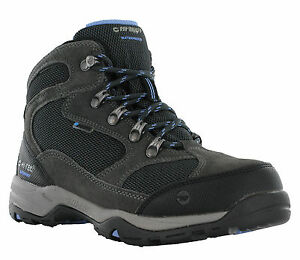 pelle in Trail 8 escursionismo Uk4 Hi Storm Up Trail Boots impermeabile da tec donna Lace IBaqw4Cxn