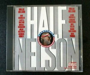 Willie-Nelson-Half-Nelson-CD-Country-Music-1985-Columbia-Records