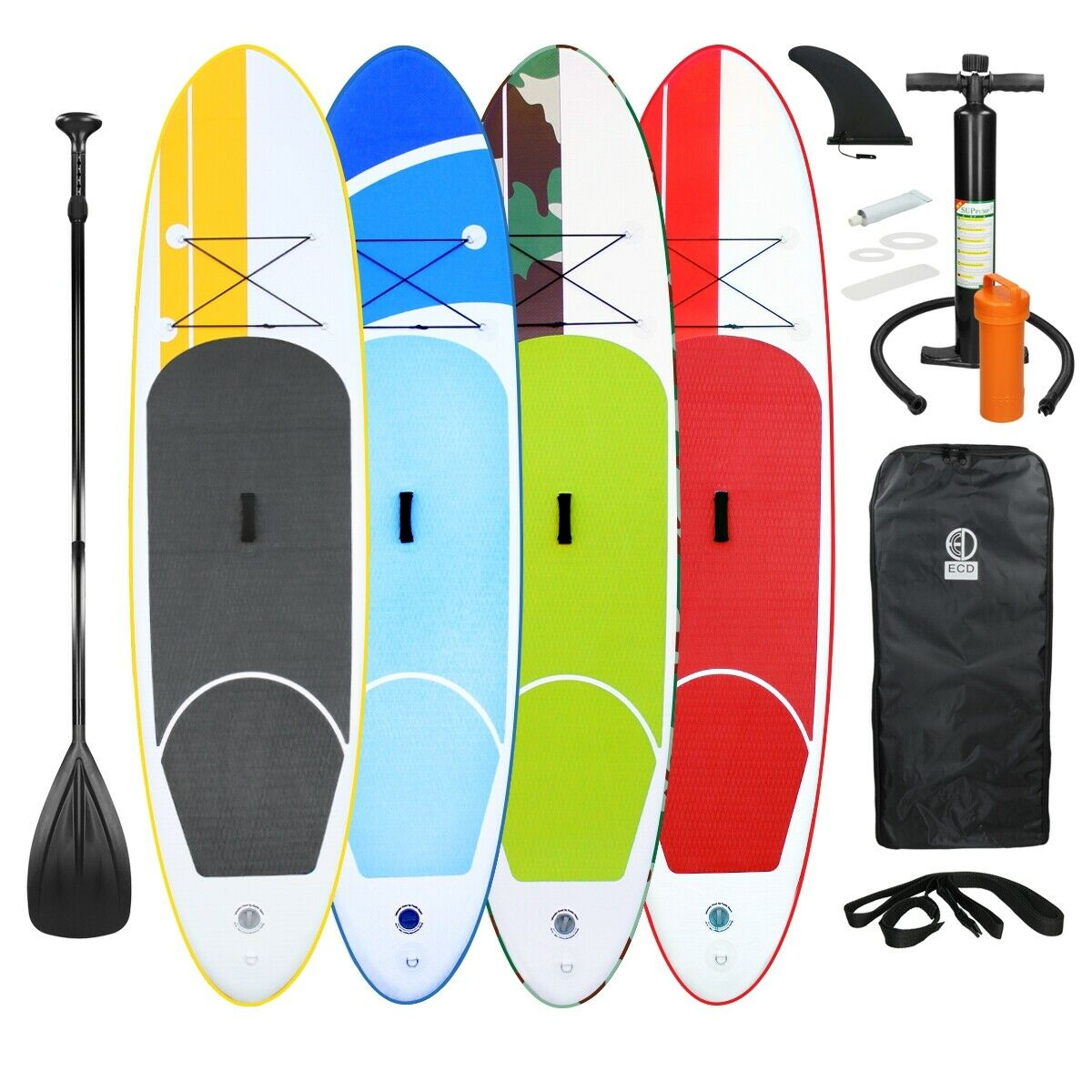 10FT Inflable Portátil Stand Up Paddle Board Surf Board Sup suave a elección