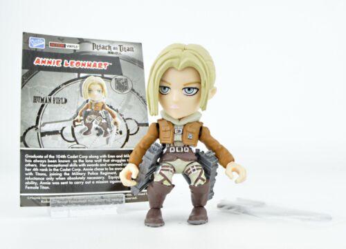 Annie Leonhart Loyal Subjects Attack On Titan 3-Inch Mini-Figure