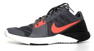 Nike FS Lite Cross Trainers Nike Dark Grey Hyper Orange Men Sz 8.5 5113