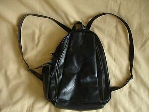 SAC-A-MAIN-FEMME-NOIR-CUIR-SYNTHETIQUE-GALANTY-PARIS