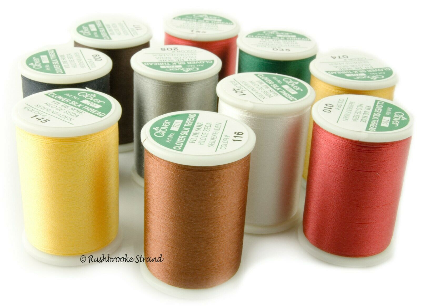 Linen Clover 041 Silk Thread