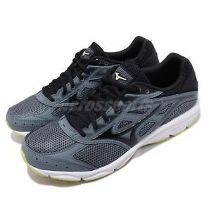 dd9f6f91c1 Mizuno Spark 4 Blue Black White Men Running Training Shoes Sneakers ...