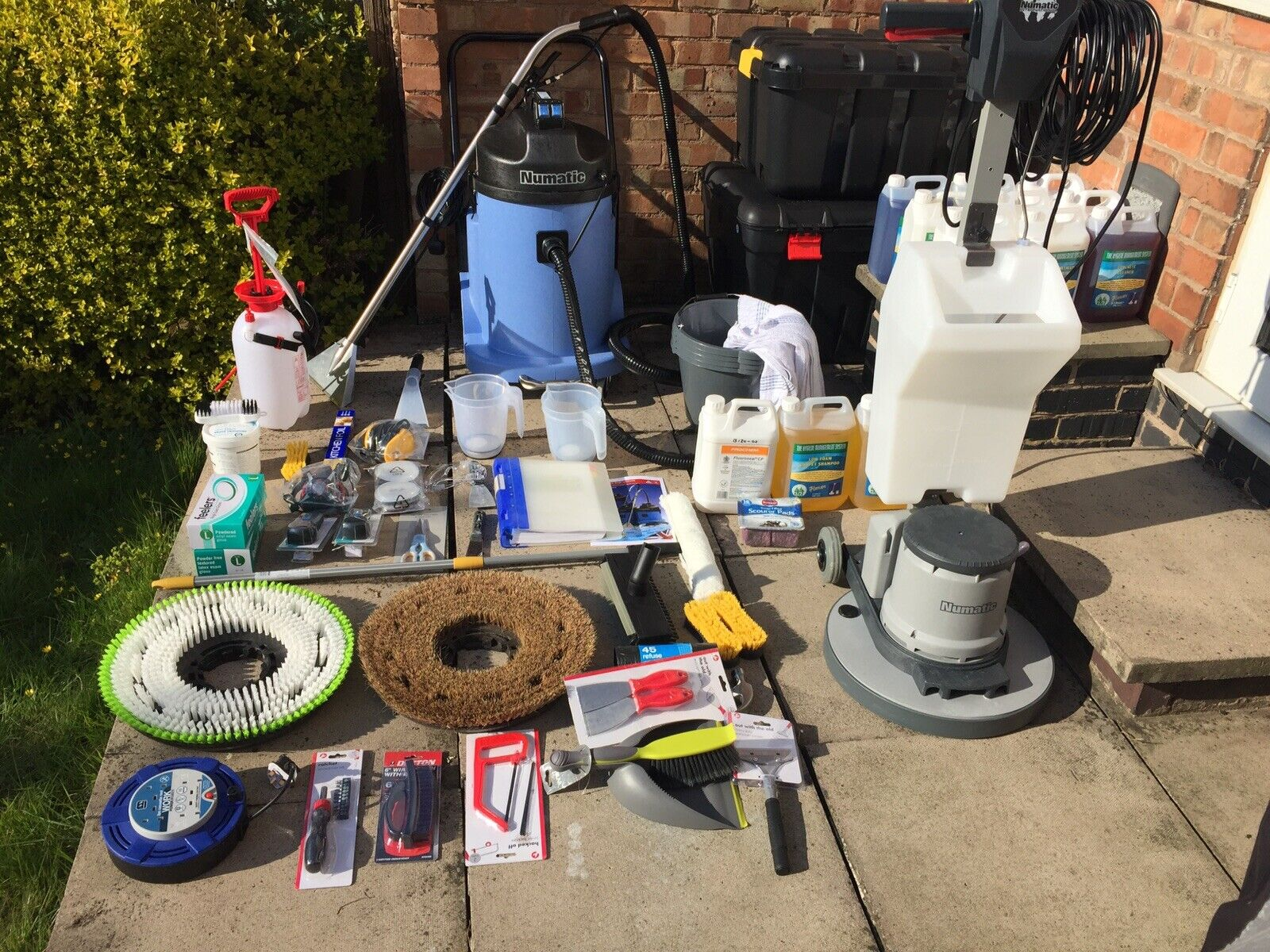 Floor & Carpet Cleaning Business for Sale (All Equipment is New)