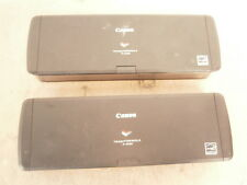 JOB LOT 2 x Canon ImageFORMULA P-215II A4 High Speed Document Scanner FAULTY #