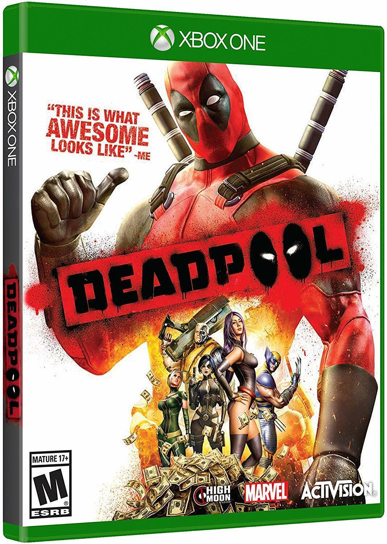 Deadpool [Microsoft Xbox One Marvel Activision Action Beat em Up Adventure] NEW