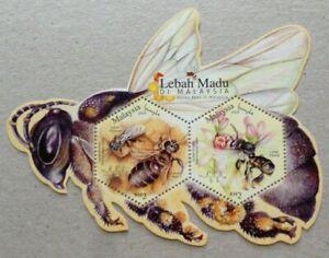 Malaysia-Miniature-Sheet-09-04-2019-Honey-Bees-in-Malaysia