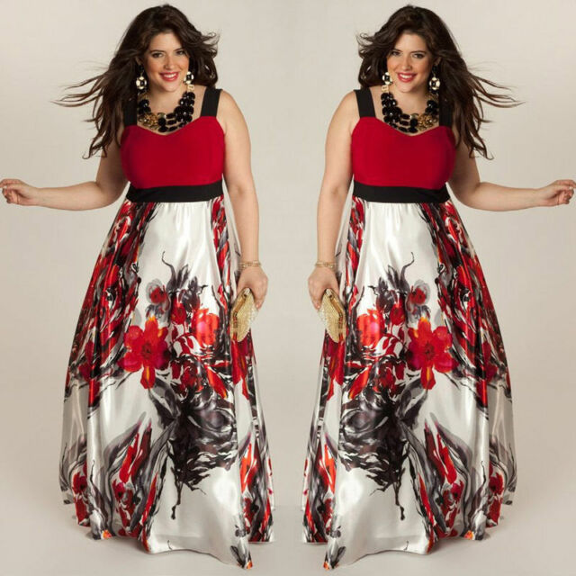 Womens Plus Size Dresses Collection On Ebay