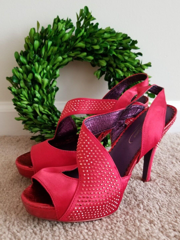 POETIC LICENCE Rosso Sparkle Dorothy Wizard of Oz High Heel 6.5 Shoes Sz 6.5 Heel  ks2 6c14c8