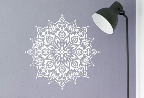 Mandala Vinyl Wall Art Decal Transfer Sticker Mural Easy Application 0410
