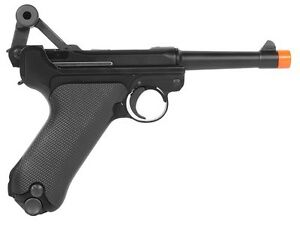 WE-Full-Metal-4-034-Short-Version-Airsoft-Luger-P08-Pistol