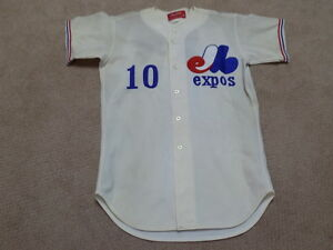 timeless design 11bf5 3924a Details about Montreal Expos Vintage Game Worn Jersey Andre Dawson Rusty  Staub