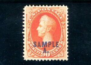 USAstamps-Unused-VF-XF-US-Perry-Sample-Scott-191s-MNG-HR