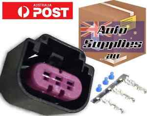 Details about Flex Fuel Composition Sensor 3 Pin Connector Plug Continental  GM (Right Guide)