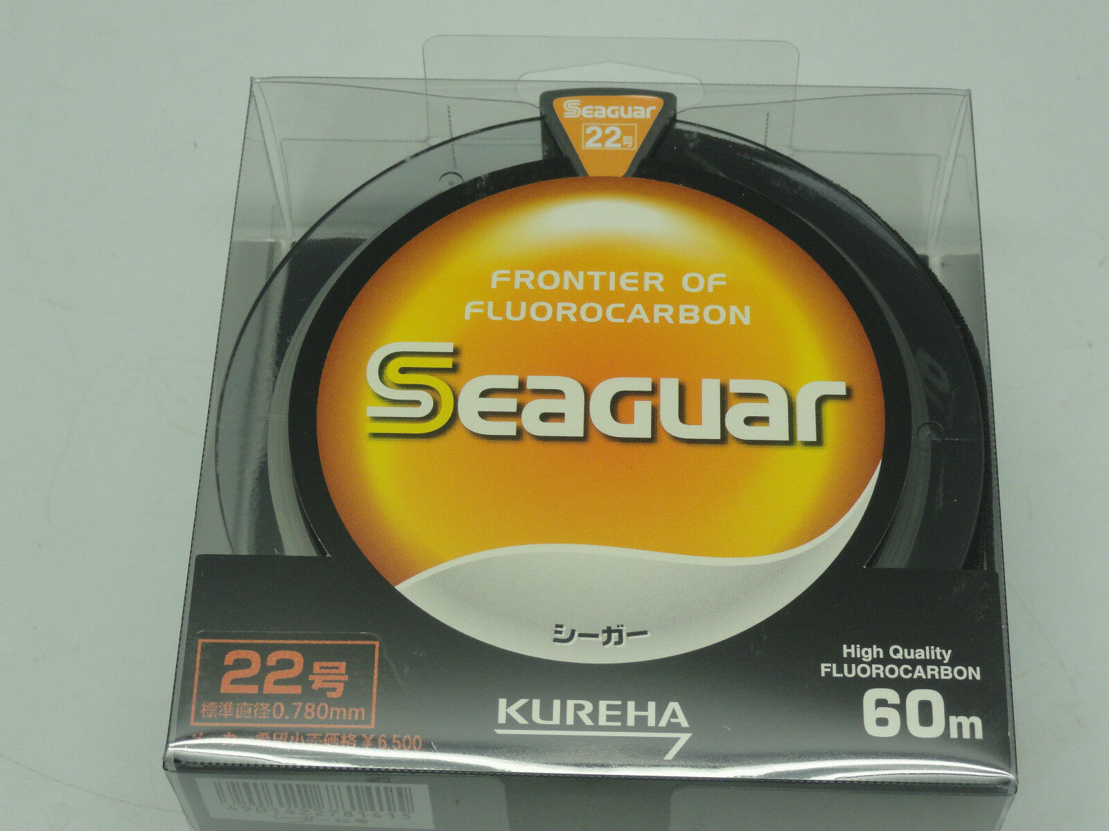 SEAGUAR FRONTIER BIG GAME FLUgoldCARBON LEADER Japan U.S 85 lb 60m 66yds